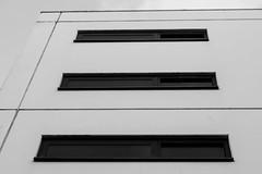 Three windows (mat352) Tags: three windows d7200 building hotel black white town