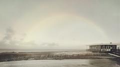 Delfzijl . . . (Geraldos ) Tags: delfzijl zee sea restaurant rainbow regenboog scene mood atmosphere licht natuurlijklicht naturallight natürlicheslicht tamron2470f28 nikon d850 geraldos geraldemming