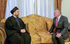 جلالة الملك عبدالله الثاني يلتقي مع رئيس تحالف الإصلاح والإعمار في العراق السيد عمار الحكيم (Royal Hashemite Court) Tags: iraq jordan kingabdullahii kingabdullah reform جلالة الملك عبدالله الثاني الأردن العراق