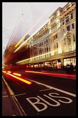 London Speed Bus (King'76) Tags: london londen king76 olympusomdem5ii night nightshot