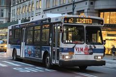 IMG_3956 (GojiMet86) Tags: mta nyc new york city bus buses 2006 orion vii genii hlf 6694 m2 5th avenue 40th street