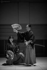 Samurai master and his daughter (Alfie | Japanorama) Tags: samurai japanese nikon nikond800e monochrome blackandwhite traditonal martialarts 135mm family sword 田中普門 amgmercedes magazine published assignment editorialfeature