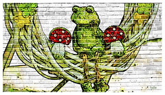 Urban Art_ Mur graffiti 07 (regis.muno) Tags: urbanart mur wall art urban urbain dessin graf graffiti paint photoshop