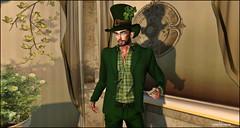 ST.Patrick (Fashion Blog Man) Tags: lelutka signature baxe stpatrick