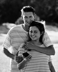 Harley & Rachel 4.6 (Aaron Davis 2014) Tags: portr bokeh tribulation cape beach rainforest daintree rachel harley