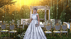 Happy Ever After (JarSephora) Tags: opulence poses winter bride love hedges wedding lights bbride bridal aphrodite sense classy ceremony set event ersch trunk roleplay sofie dress leselle accessories beo succulent truth hair vip ciara free grou group gift maitreya lara mesh body catwa bento head catya secondlife second life sl style fash fashion female wooman woman women girl girls virtual world special mment couple crown flowers flowrr bouquet gown white snow lace forest nature avatar