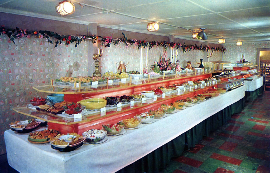 San Dar Dining Room Smorgasbord Bellville OH (Edge And Corner Wear) Tags: