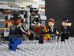 F*** Batman (-Metarix-) Tags: lego minifig dc comics comic robin batman titans streaming service goons dick grayson richard custom