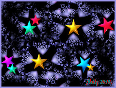 *MERRY CHRISTMAS ...& (MONKEY50) Tags: art digital fractal stars colors psp hypothetical abstract musictomyeyes netartii exoticimage artdigital autofocus contactgroups