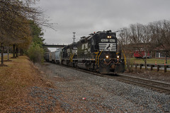 Closest You'll Get (ajketh) Tags: ns norfolk southern western 1627 rc remote control high hood railway lancaster chester shortline interchange rs5t leslie rock hill sc south carolina sbline caboose rline resolute catawba paper mill local sd40 sd402 train freight railroad station