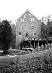 Black Creek Pioneer Village (35mm film) (Richard Pilon) Tags: blackcreekpioneervillage blackandwhite 35mmfilm ilfordhp5plus400 toronto bw 35mm olympusxa2