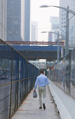 walk and talk (IONclad Photo) Tags: people business man downtown calgary alberta city street daytime ionclad photography