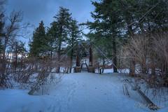 DSC_7859_60_61_62_63.jpg (GrandView Virtual, LLC - Bill Pohlmann) Tags: up upperpeninsula blackriverharbor greatlakes bessemermi winter suspensionbridge sunset ice breakwater lakesuperior michigan