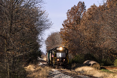 Springing East at the Springs (Jackson Vandeventer) Tags: drei decatursubdivision pattersonsprings camargo illinois il furx furx5551 wamx4002 gp382 emd railroad railfanning train tracks track locomotive eastbound