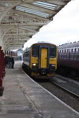 Carlisle bound (feroequineologist) Tags: 153 class153 northern railway train hellifield