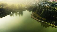 Lakeside, Eco Park Bandar Seri Botani, Ipoh (alfredsridar) Tags: dji drone mavic pro air phantom spark malaysia lake park suburban greenery