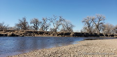 February 1, 2019 - A quite afternoon on the South Platte River. (ThorntonWeather.com)