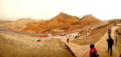 Parque geológico de Danxia, las Montañas de Colores. China (escandio) Tags: 2018 china china2018 danxia gansu
