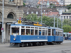 Zurich 1350+629 (pretsend (jpretel)) Tags: tramway switzerland historic 1530 629