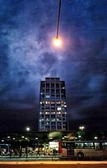 céu - noite - nuvens - prédio - cidade |  sky - clouds - building - city / São Paulo/SP - Brasil  | instagram @luciano_cres (Luciano9358) Tags: sky clouds building city céu noite nuvens prédio cidade sãopaulo brazil brasil