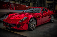 """Ferrari at it`s best"" - FERRARI 599 GTB FIORANO (Peters HDR hobby pictures) Tags: petershdrstudio hdr ferrari car dreamcar red auto sportwagen rot"
