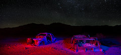 death valley cars (Sean Vallely) Tags: oldcars deathvalley desert nightshot stars california mojave