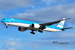 PH-BVU KLM Boeing 777-306(ER) DSC_1998 (Ron Kube Photography) Tags: aircraft plane flight airliner nikon nikond500 d500 ronkubephotography yyc calgary calgaryinternationalairport phbvu