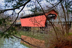 DSC_0004 (S and V photos) Tags: ohio belmont county oue covered bridge