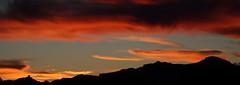 Sunset 12 23 18 #11 Panorama (Az Skies Photography) Tags: sunset sun set dusk twilight nightfall sky skyline skyscape cloud clouds red orange yellow gold golden salmon black december 23 2018 december232018 122318 12232018 rio rico arizona az rioricoaz arizonasky riorico arizonaskyline arizonaskyscape canon eos 80d canoneos80d canon80d eos80d panorama