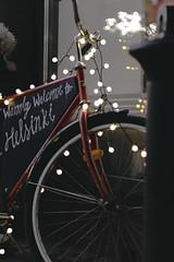 bike.jpg (Niko Mehiläinen) Tags: bike lights bokeh 50mm canon street helsinki suomi finland