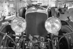 Brooklands45.jpg (Colin Dorey) Tags: bentley headlights radiator bw monochrome blackandwhite blackwhite brooklands museum cars motorcar weybridge surrey uk