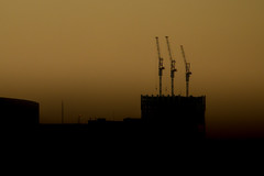 Giants (Walter Quirtmair) Tags: ifttt 500px crane night dusk dark japan tokyo quirtmair