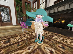 I got into mommy's closet and makeup (Awen Star) Tags: toddleedoo bento alice head secondlife