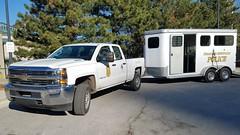 IMPD Mounted Unit (Central Ohio Emergency Response) Tags: indianapolis metropolitan police department indiana impd mounted unit equestrian horse chevy silverado pickup truck trailer slicktop