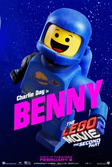 CHARLIE IS BACK (Joel.Baker) Tags: thelegomovie 2 second part sequel space spaceship benny charlie day actor lego