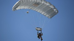 Recon takes a leap (bxzzbxzz) Tags: 2mardiv iimef jump recon airinsert airborneoperations confidence parachute qualification routine team