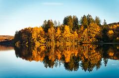 Herbstimpressionen #4 (achim-51) Tags: wasser see möhnesee spiegelung reflection herbst autumn lake nrw germany de panasonic lumix dmcg5
