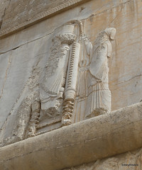 005 Hundred Column Hall (Sedsetoon), Southern Doorway, Persepolis (2).JPG (tobeytravels) Tags: artaxerxes xerxes ahurmazda alexanderthegreat