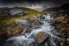 Go with the flow (Einir Wyn Leigh) Tags: water landscape rocks explore river storm rugged wales uk nikon sigma weather outside colorful winter natural nature