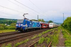 """DB 152 136 """"TFG/Albatros"""" am 23.05.2018 mit einem gemischtem Güterzug in Oberhaun (Eisenbahner101) Tags:"""