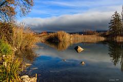 Morning View (Savoie 11/2018) (gerardcarron) Tags: automne canon80d lac lacstandré lake landscape matin morning savoie