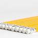 Pencils with white background