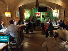 Tempi di recupero con Rasoterra Bistrot Vegetariá di Barcellona. Osteria della Sghisa, ottobre 2018