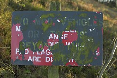 MixedMessage (Tony Tooth) Tags: nikon d7100 nikkor 35mm f18g sign abandoned obsolete message warslow staffs staffordshire