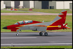 Patrulla Aguila KAI T-50 (evansaviography) Tags: patrullaaguila airshow team display spanishairforce spain whatif photoshop southkorea t50 photo