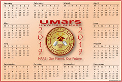 2019_LScape_UMARS (Sub Martis) Tags: mars universityofmars marsuniversity university image logo badge insignia calendar freecalendar 2019calendar free2019calendar education planet space 2019 marscalendar mars2019calendar free wwwsubmartiscom cayless sandi author submartis college colleges art picture umars sciencefiction science