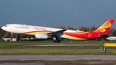 Hainan Airlines Airbus A330-343 B-8016 (StephenG88) Tags: manchesterairport southside man egcc 23l 23r boeing airbus 15thnovember2018 151118 111518 lineup takeoff hainanairlines chh hu a330 a333 a330300 a330343 b8016