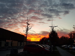 Awesome sunset (leaedman) Tags: sunset awesome light lumière samsung s8 galaxys8 colors couleurs ciel fire sky feu