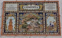 mural de azulejos en Competa (Stil Licht) Tags: tiletableau tegeltableau spanje spain on1 muraldezulejos espagna cuadrodeazulejos competa closeup zonerphotostudio