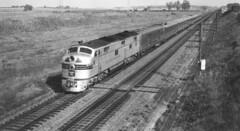 CB&Q E7 9922B (Chuck Zeiler52) Tags: cbq e7 9922b burlington railroad emd locomotive galva train zephyr pstringham chz